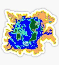 World Watersheds  Sticker