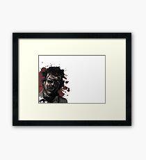 Leatherface Texas Chainsaw Massacre Framed Print
