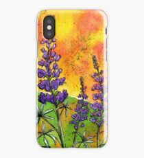 Lupin Flowers iPhone Case