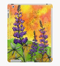 Lupin Flowers iPad Case/Skin