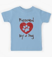 Rescued by a Dog - Adopt a Shelter Pet - Rescued Dogs - Adopt a Dog Kids Clothes