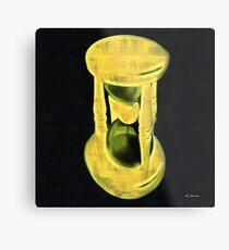 The Hourglass Metal Print