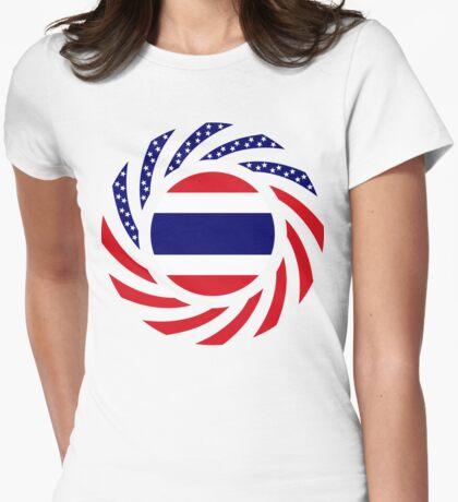 Thai American Multinational Patriot Flag Series T-Shirt