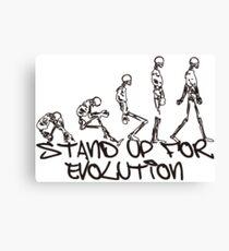 EVOLUTION Canvas Print