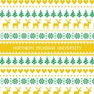 Northern Michigan University Christmas Sweater Design by kndll