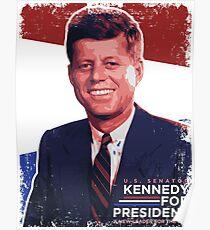 John F. Kennedy Pro-Election Propaganda Poster