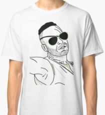 Neon Draw Werewolf Hunter Classic T-Shirt