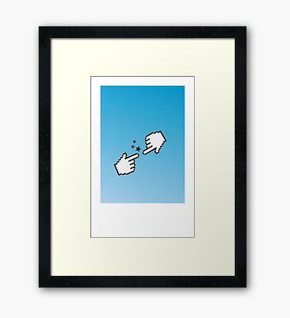 Hand of God VRS2 Framed Print