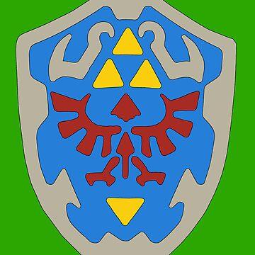 Hylian Shield by Jimcatinnes