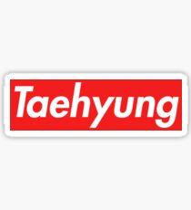 Supreme Taehyung Sticker