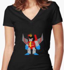 Starscream Women's Fitted V-Neck T-Shirt