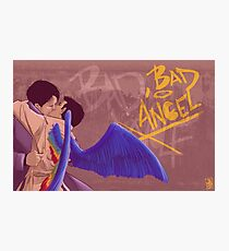 Bad, Bad Angel (Original Version) Photographic Print