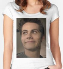 Creepy Stiles Women's Fitted Scoop T-Shirt