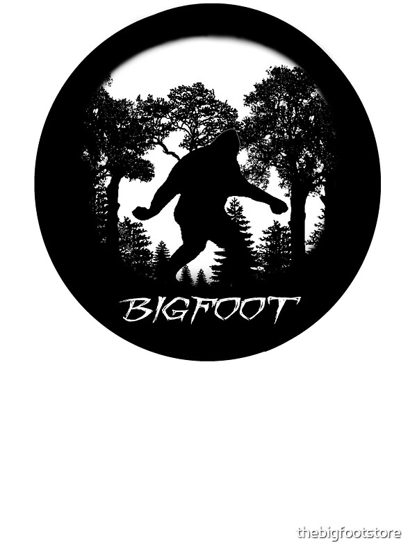 Quot Bigfoot Silhouette Quot Stickers By Thebigfootstore Redbubble