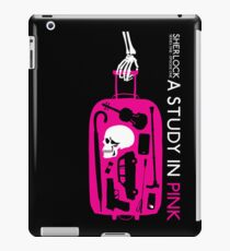 Sherlock - A Study in Pink Episode Poster iPad Case/Skin