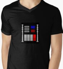 Darth Vader's Chest Panel Men's V-Neck T-Shirt