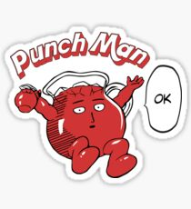 One Punch Man Kool Aide Man  Sticker
