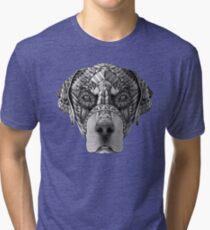 Ornate Rottweiler Tri-blend T-Shirt
