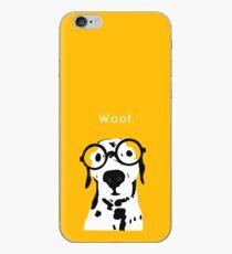 Snip the Dalmatian in Orange iPhone Case