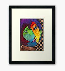 Picasso Portrait Framed Print