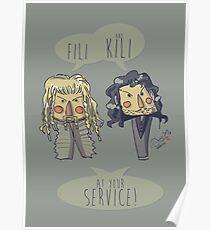 Fili and Kili Poster