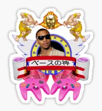 Lil B (historical, rare, amazing, wow) Sticker