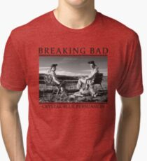 Breaking Bad - Crystal Blue Persuasion Tri-blend T-Shirt