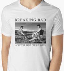Breaking Bad - Crystal Blue Persuasion Men's V-Neck T-Shirt