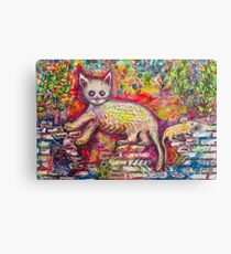 Playing Cat 'n' Mouse Canvas Print