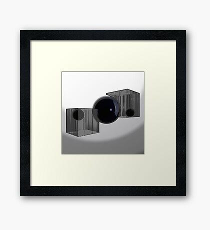 Blink Of An Eye - Variation Framed Print