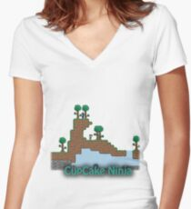 Haggis Tee Women's Fitted V-Neck T-Shirt