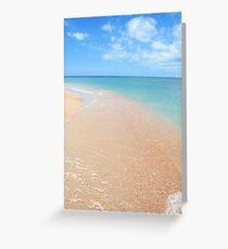 Shackleford Island Greeting Card