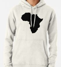 090643fa53 The continent of Africa map of African nation Pullover Hoodie