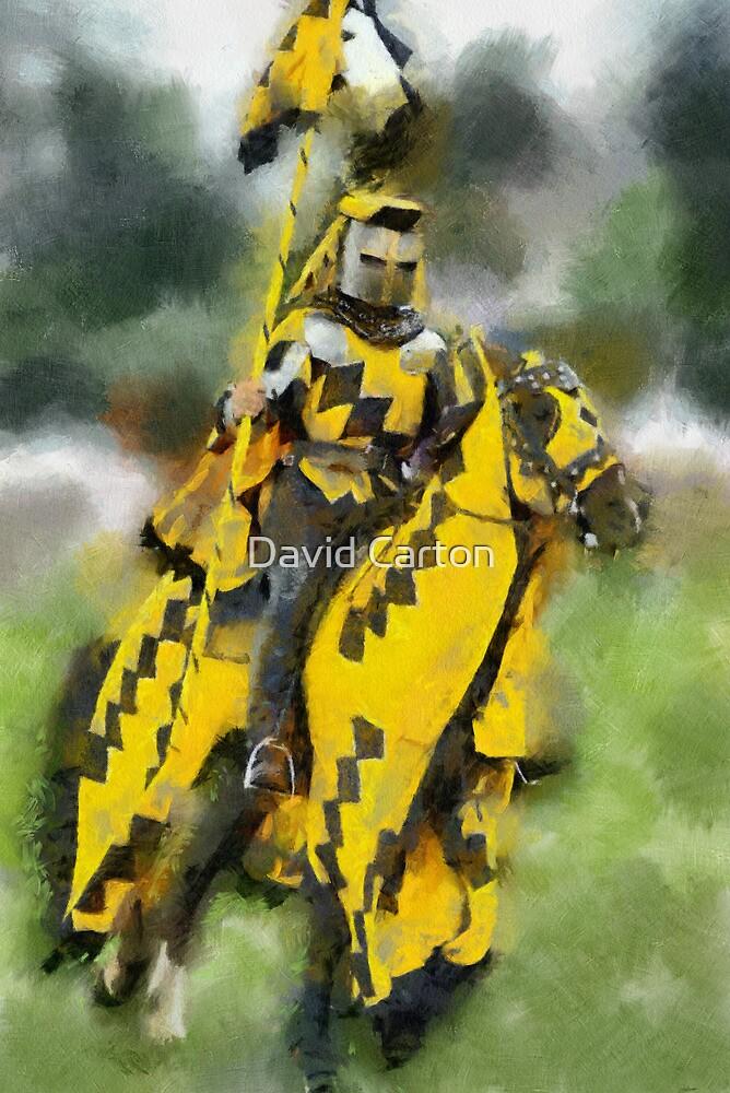 The Yellow Knight, Berkeley Castle, Gloucestershire by David Carton