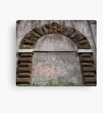 BOW ON THE WALL Canvas Print