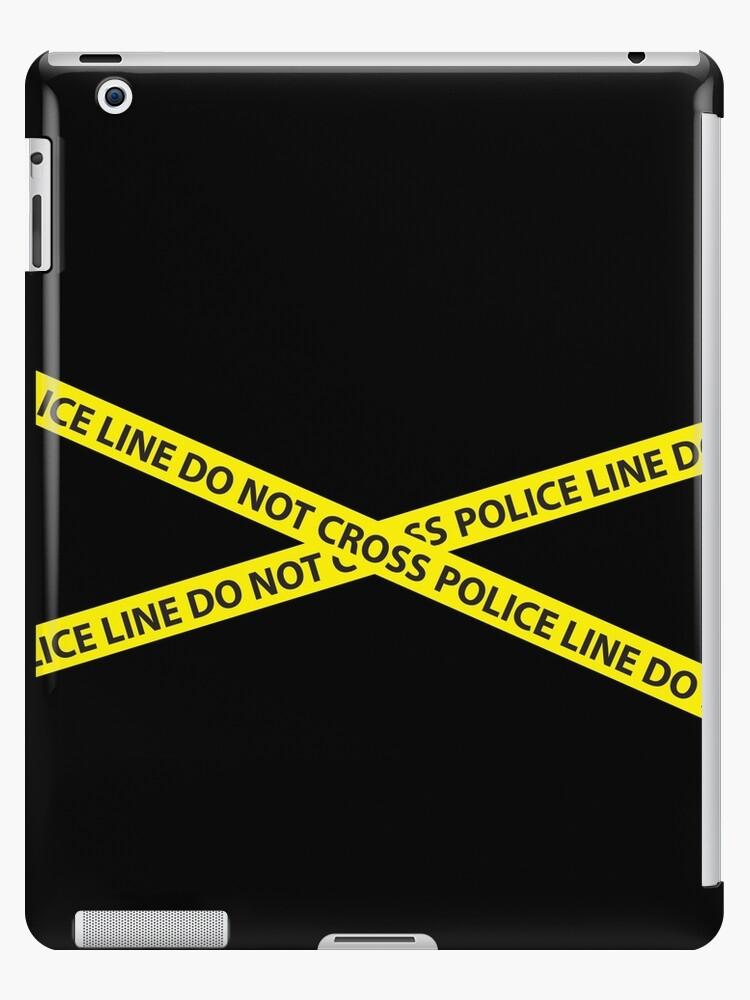 POLICE LINE DO NOT CROSS by jazzydevil