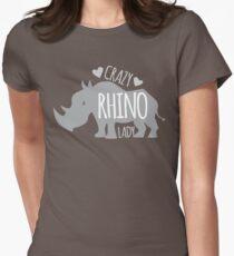 Crazy Rhino Lady T-Shirt