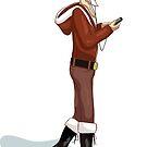 Hipster Santa by mogencreative