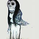 Owl Lady by Jeanette  Treacy