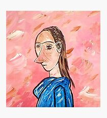 Mrs. Picasso Photographic Print