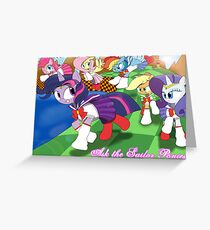 The Sailor Ponies! Greeting Card
