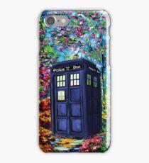 Tardis Flower iPhone Case/Skin