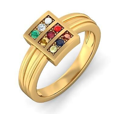 "Navaratna Ring Designs For Men"" by markstill001"