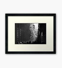 Light Silhouette in Granada Framed Print
