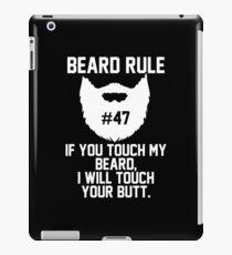 Beard Rule #47 iPad Case/Skin