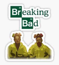 breaking bad tee Sticker