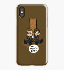 No More Rope iPhone Case/Skin