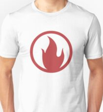 TF2 Pyro Shirt Team Spirit Red Unisex T-Shirt