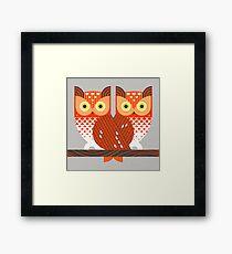 Screech Owls Framed Print