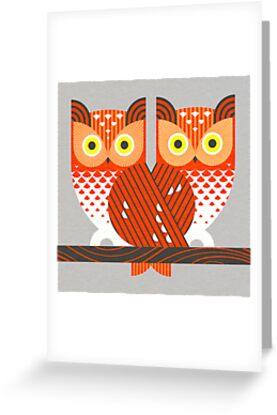 Screech Owls by Scott Partridge